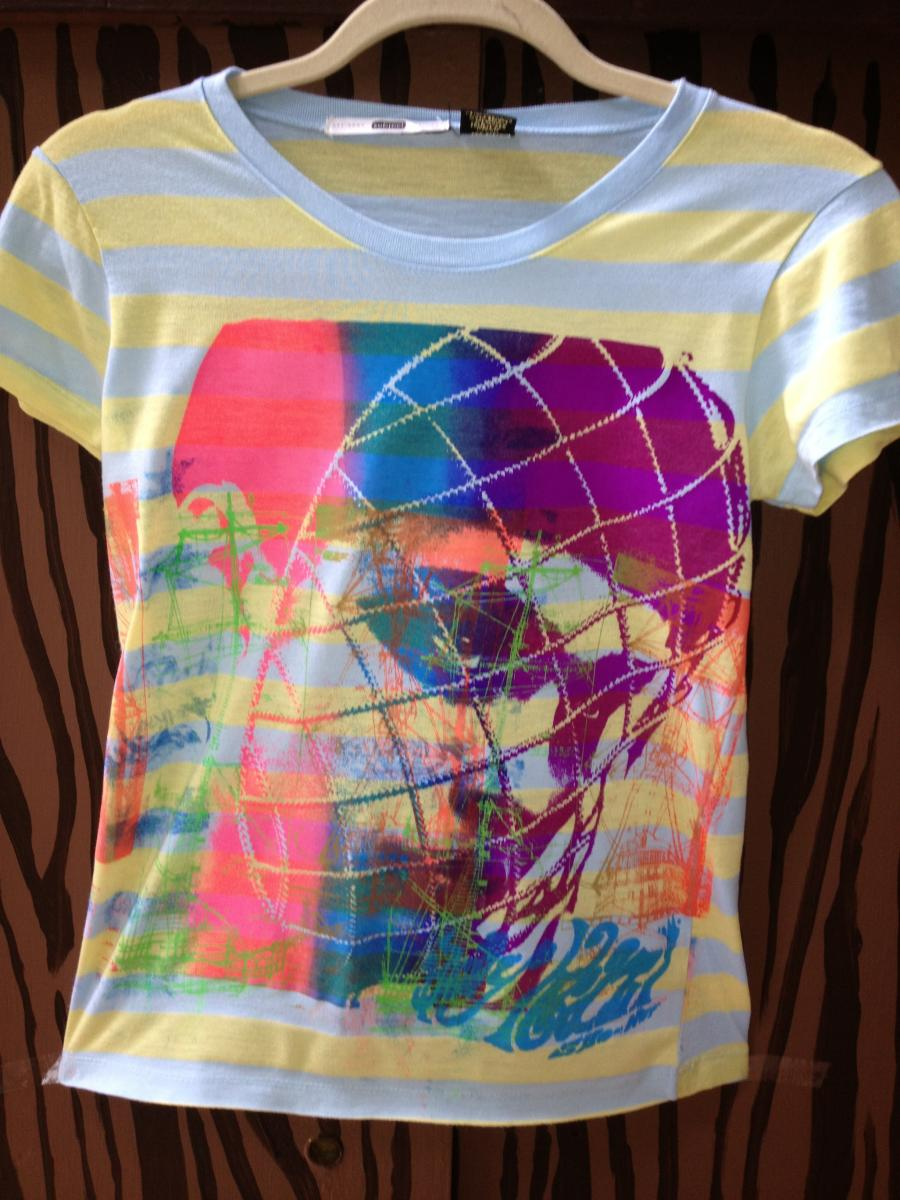CAGE GIRL T SHIRT TO ORDER 120