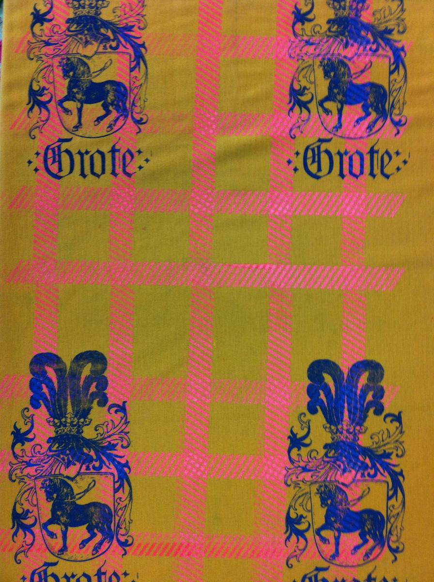 GERMAN GROTE TOILE TO ORDER