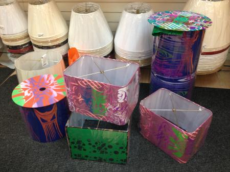 LAMPSHADES 2 AVAILABLE 250 EACH